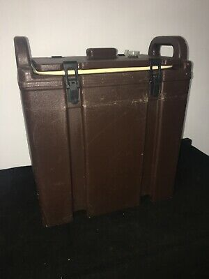 Cambro Brown Insulated Soup/Beverage Carrier 350LCD 3.3/8 Gallon Capacity. #16