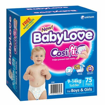 NEW Babylove Jumbo Toddler 75