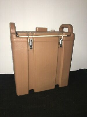 Cambro Tan Insulated Soup/Beverage Carrier 350LCD 3.3/8 Gallon Capacity. #24
