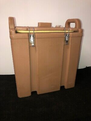 Cambro Tan Insulated Soup/Beverage Carrier 350LCD 3.3/8 Gallon Capacity. #25