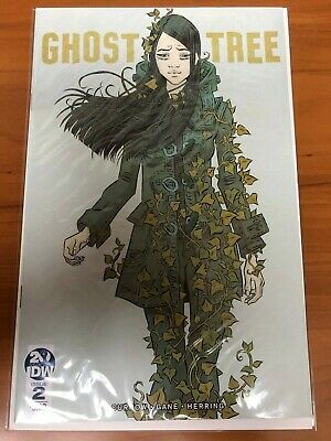 GHOST TREE 2A Main first 1st low print NM Japanese Horror story IDW 2019
