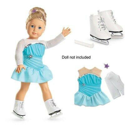 American Girl Truly Sparkly Skating Set for 18-inch Dolls