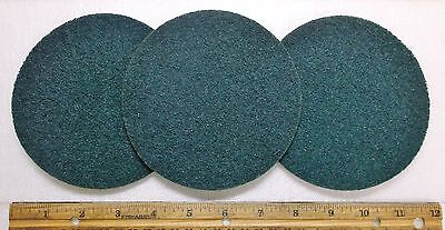 """3 - 5"""" x NH Blue Very Fine Scotch-Brite J Hook Surface Conditioning Disk, #04303"""