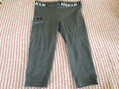 Under Armour Youth XL Girls Heat Gear Cropped Pants NWT