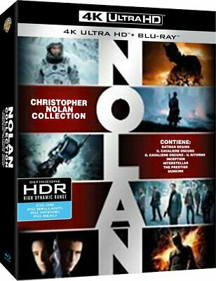 Christopher Nolan Collection [7 Film Classici] [4K Ultra Hd + Bluray 21 Dischi]