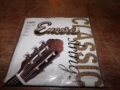 1 Pack Of 6  Light Classic Guitar Strings- New