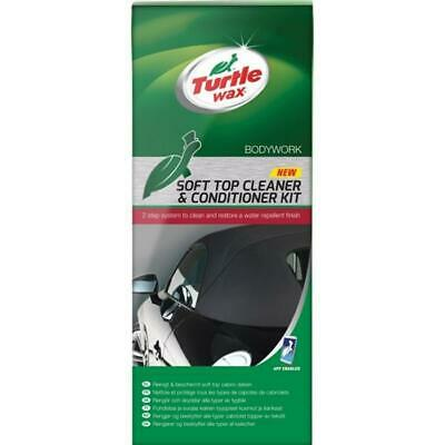 Turtle Wax Cabriolet Soft Top Convertible Roof Cleaner & Conditioner System Kit