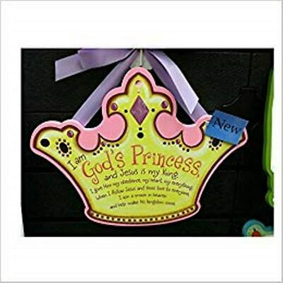 Abbey Press - God's Princess Shaped Plaque - NEW