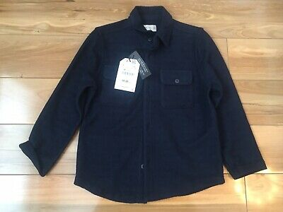Zara Boys Age 6 Long Sleeved Zara Navy Shirt BNWT