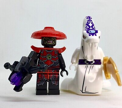 SCOUT STONE  & PYTHOR  NINJAGO  minifigure lego movie   films TRIBES DUO