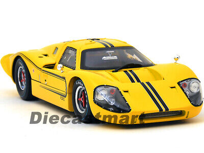 Shelby Collectibles 1:18 SC422 1967 Ford Gt Mk IV Gelb Modellauto Neu