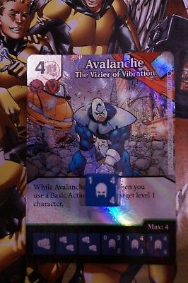 Dice Masters X-Men First Class - #042 Avalanche - Uncommon FOIL