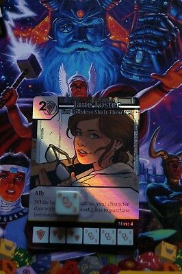 Dice Masters The Mighty Thor - #109 Jane Foster - RARE FOIL
