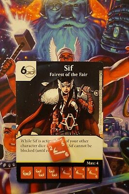 Dice Masters The Mighty Thor - #122 SIF - RARE