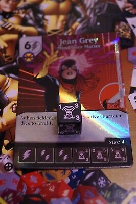 Dice Masters X-Men First Class - #016 Jean Grey - Common FOIL