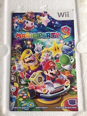 Original Game Cases & Boxes Latest Collection Of Mario Party 9 Wii Replacement Case And Manual Only
