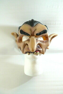 Disguise 2002 DRACULA MASK Vampire Half-Mask Cosplay Costume Scary