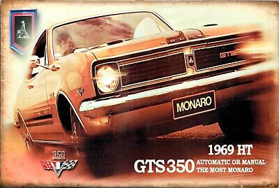Holden GTS Monaro HT 350 brand new.  tin metal sign MAN CAVE brand new