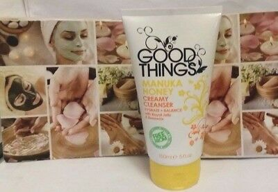 100% Good Things Manuka Honey Creamy Cleanser w/ Royal Jelly & Beeswax 150ML