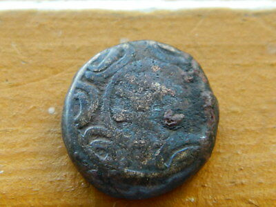 Ancient Greek Coin of Macedonia Shield Helmet 288 BC