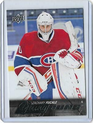 *2015-16 Upper Deck Young Gun Rookie Zachary Fucale #461*
