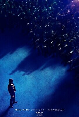 John Wick: Chapter 3 Parabellum Adv A Movie Poster Double Sided 27x40 Original