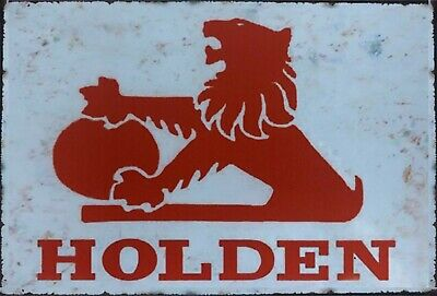 GMH Logo tiger Holden tin metal sign MAN CAVE brand new