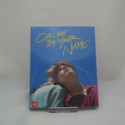 Call Me by Your Name (2018, Blu-ray) Lenticular Case Limited Edition