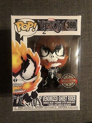 IN HAND Venomized Ghost Rider #369 - Venom - Marvel W/ Protector Funko Pop