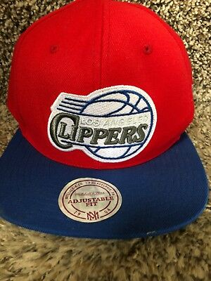 low priced 85dd5 a73bb Los Angeles Clippers Mitchell   Ness NBA SnapBack Hat - BRAND ...