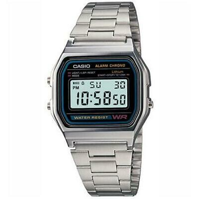 Casio A158Wa-1 Stainless Steel Digital Men's Watch