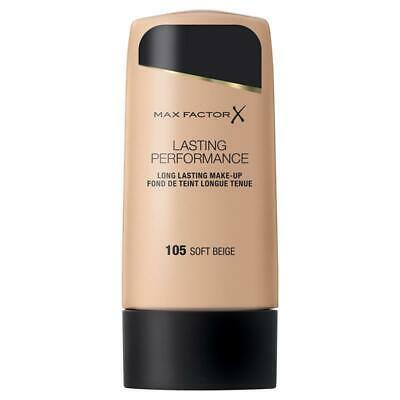 Max Factor Foundation Lasting Performance Touch Proof 105 Soft Beige