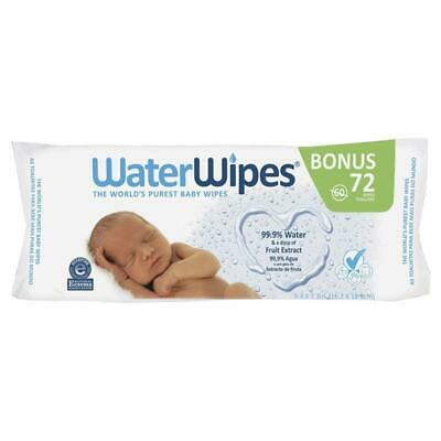 WaterWipes 72 Pack