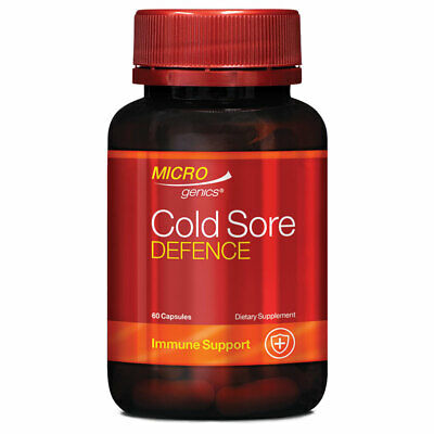 Microgenics Cold Sore Defence 60 Capsules