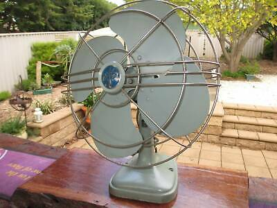 Vintage Mid Century electric oscillating fan