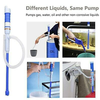 Water Pump Liquid Transfer Gas Oil Siphon Battery Operated Electric Fish Tank