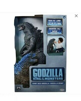 "Jakks Pacific Giant Godzilla 2019 Movie King Of The Monsters 24"" Action Figure"