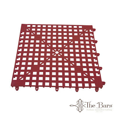 Bar Mat Coasters for bar Interlocking Red Colour