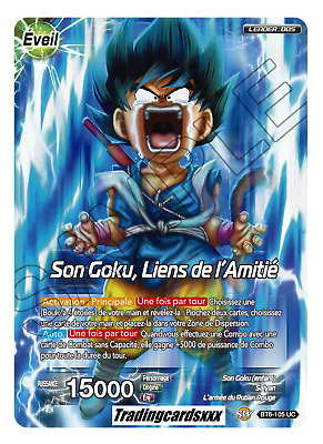 ♦Dragon Ball Super♦ Son Goku, Liens de l'Amitié : BT6-105 UC -VF-