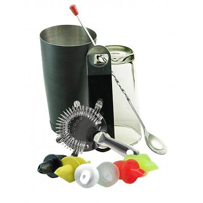 Equipment Bartender Bartender Shaker 11 Pieces Kit Multicolour