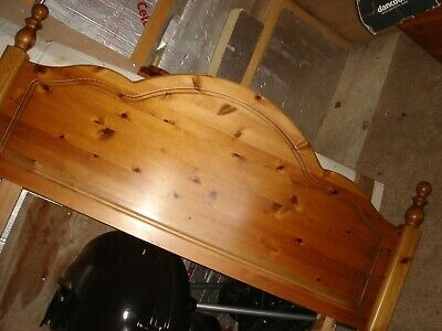 ducal solid pine double bed headboard ? upcyle shabby chic