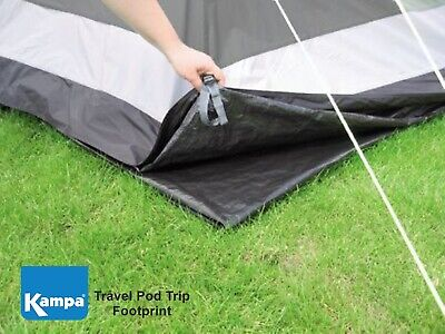 Kampa Travel Pod Trip Footprint - Helps protect awning & keep it clean & dry
