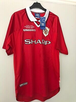 Manchester United Retro Remake Champions League winners 1999 Solskjaer L