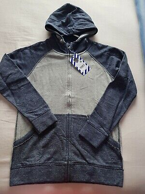 Boys Pumpkin Patch Two Tone Hoodie Size 12 Brand New With Tags