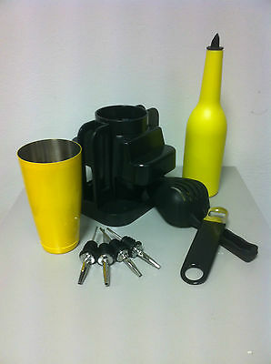 Set Barman Yellow Colour Odk Metal Pour Barman Bartender Tools
