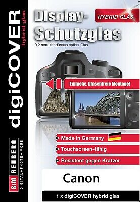 digiCOVER Display Schutzglas f. Canon 6D Mark II