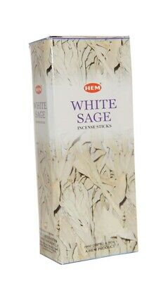 Bulk Buy 120 Sticks X Hem White Sage   Incense Sticks / Relaxation Fragrance