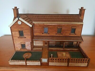 Large Wooden Handmade Dolls House