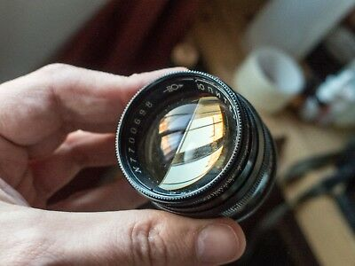 Jupiter 3 50mm f/1.5 Soviet Sonnar copy, clean, tested (with example images).