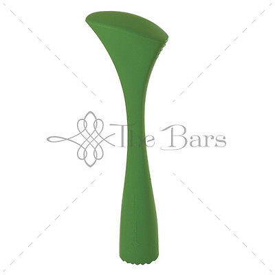 Pestle Ergonomic Knurled Green-Attachments Barman